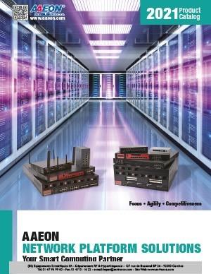 Solutions de plateforme réseau AAEON 2021