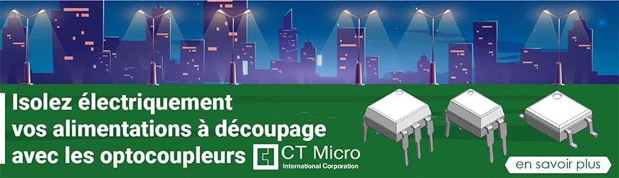 Optocoupleurs Darlington, par CT Micro