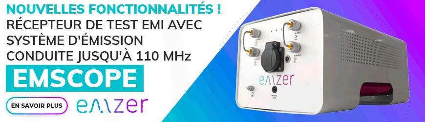 Récepteur EMI avec un RSIL intégré pour de meilleurs mesures en conduit
