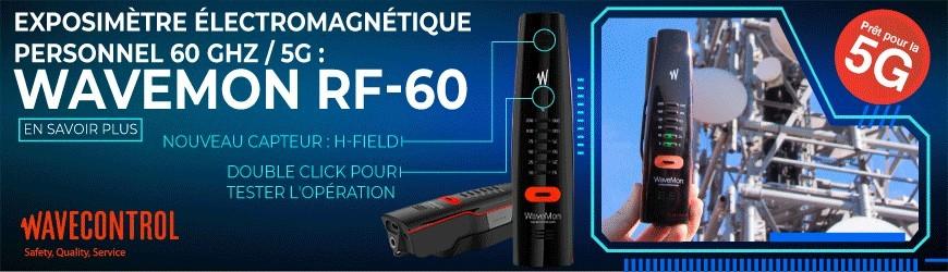 Exposimètre électromagnétique : WaveMon RF-60