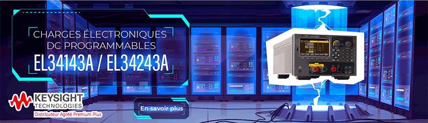 Charges électroniques DC programmables : EL34143A / EL34243A