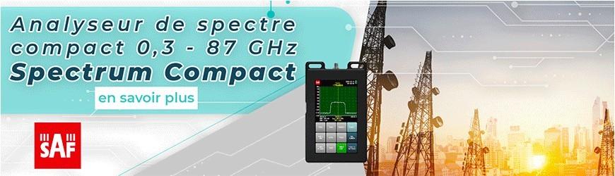 Analyseur de spectre compact 0,3 - 87 GHz