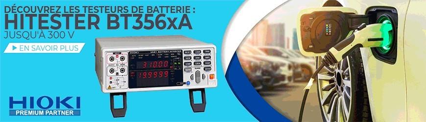 Testeurs de batterie jusqu'à 300 V