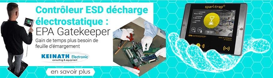 Contrôleur ESD décharge électrostatique