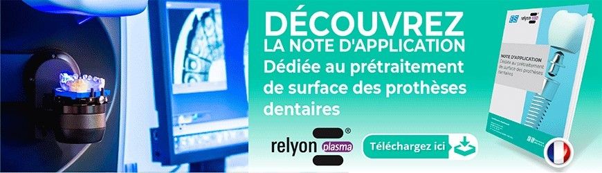 Note d'application dédiée au prétraitement de surface des prothèses dentaires