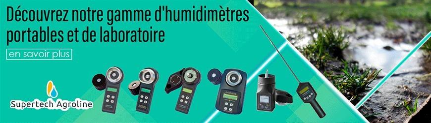 Humidimètres portables et de laboratoire | Supertech Agroline