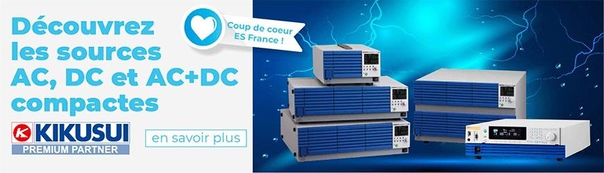 Sources AC, DC et AC+DC compactes