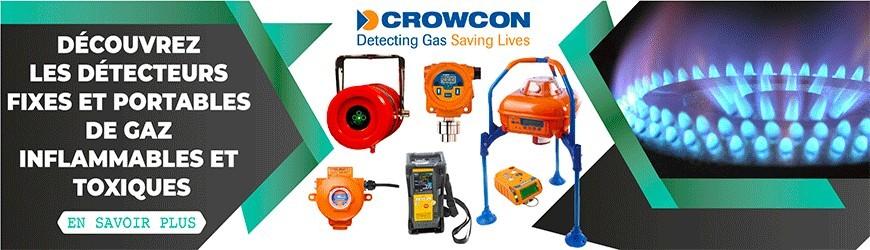 Détecteurs fixes et portables de gaz inflammables et toxiques