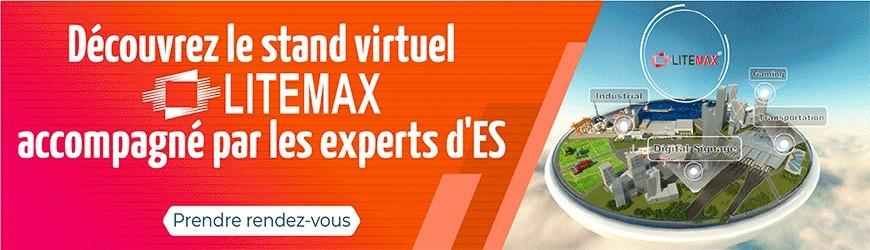 Litemax, leader de l'affichage haute luminosité vous propose de découvrir son stand virtuel
