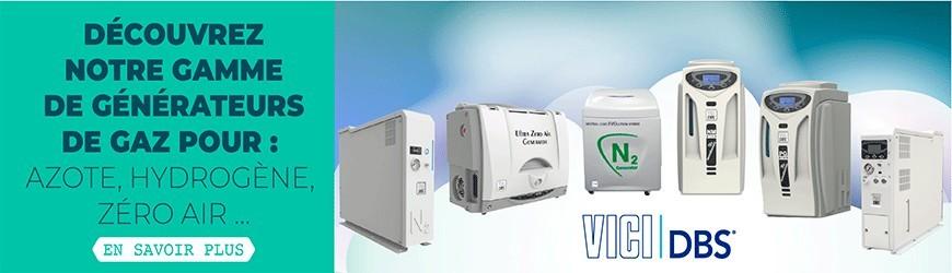 Générateurs de gaz pour : azote, hydrogène, zéro air...