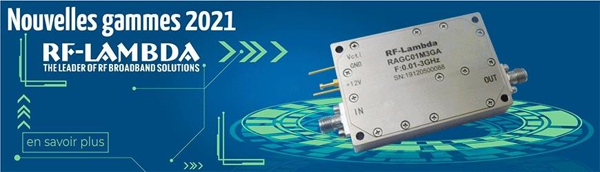 Solutions RF haut débit, par RF Lambda
