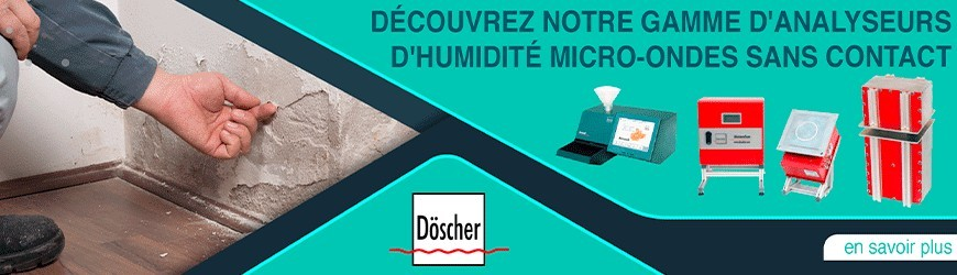 Analyseurs humidité micro-ondes sans contact