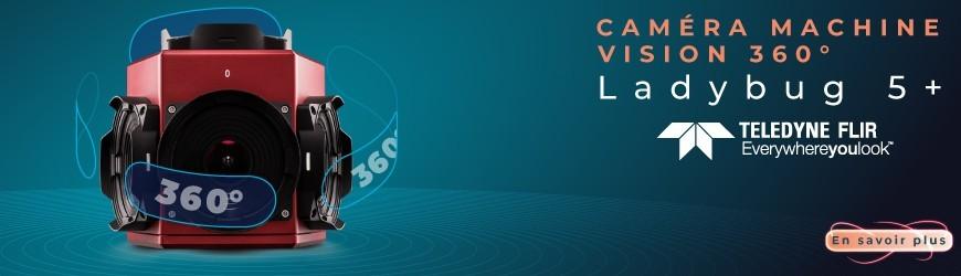 Caméra Machine Vision Ladybug 5+ 360 ° : la plus haute qualité d'imagerie à 360°