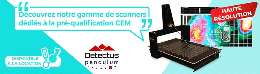 Scanners dédiés à la pré-qualification CEM
