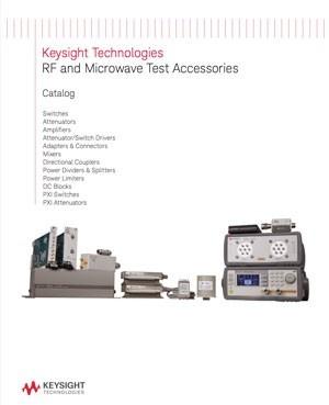 Catalogue Accessoires RF Keysight