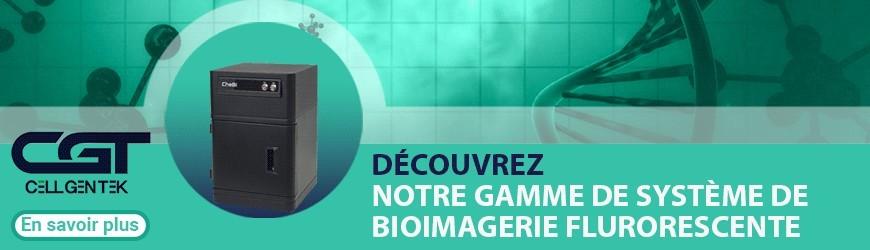 Gamme de système de bioimagerie fluorescente