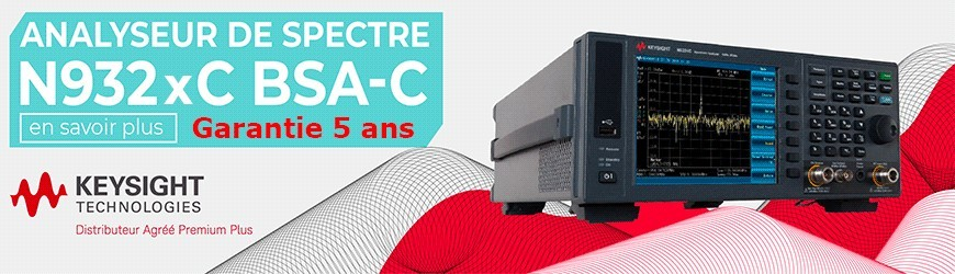 Analyseurs de spectre : N932xC