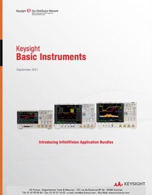 Catalogue Keysight Basic Instruments 2021