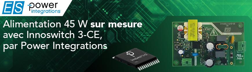 Design d'alimentation sur mesure avec Power Integrations Innoswitch 3-CE