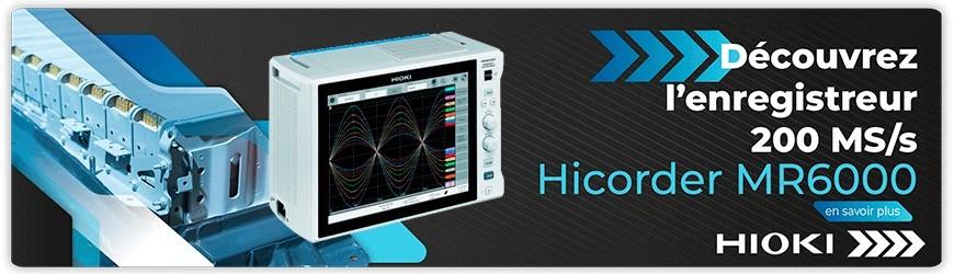 Enregistreur 200 MS/s : Hicorder MR6000
