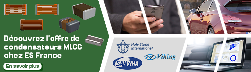 Utilisez les condensateurs céramique pour les applications à haute fréquence