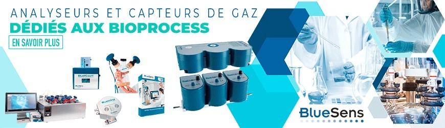 Analyseurs et capteurs de gaz dédiés aux bioprocess