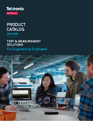 Catalogue TEKTRONIX 2019