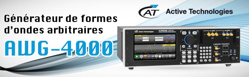 Générateur de formes d'ondes arbitraires : AWG-4022 Active Technologies