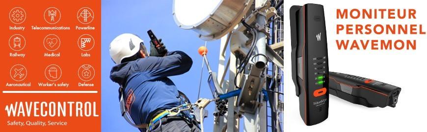 Exposimètre Electromagnétique Personnel WAVEMON - Wavecontrol