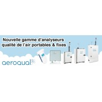 Nouvelle gamme d'analyseurs qualité de l'air portables et fixes - Aeroqual