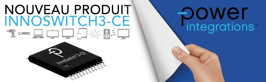 Nouveau circuit intégré commutateurs INNOSWITCH3-CE - POWER INTEGRATIONS