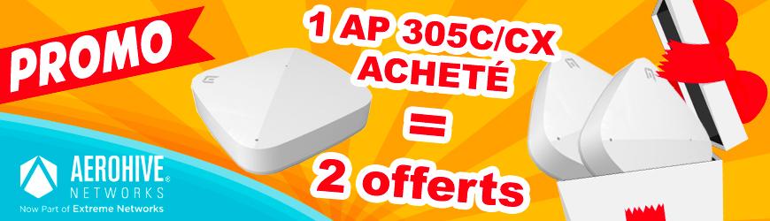 Achetez 1 point d'accès WIFI AP305 C(X), recevez en 3! | AEROHIVE