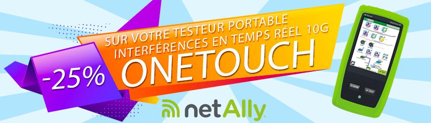 -25% sur le testeur portable d'interférences en temps réel | NETSCOUT