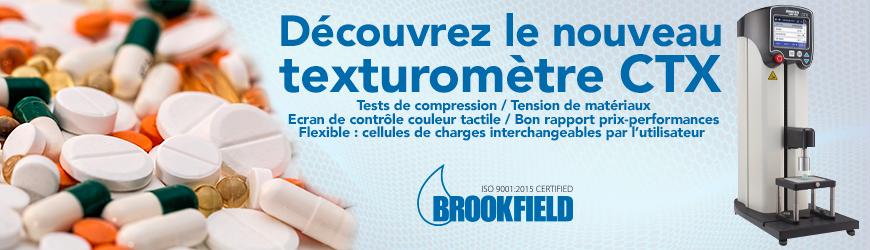 BROOKFILD Texturometre CTX