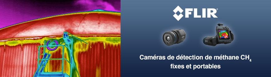 Détectez les fuites de méthane avec la suite de caméras FLIR