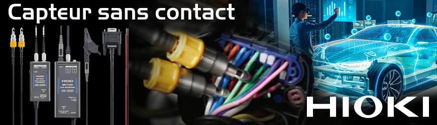 Capteur Bus CAN, sans Contact | HIOKI