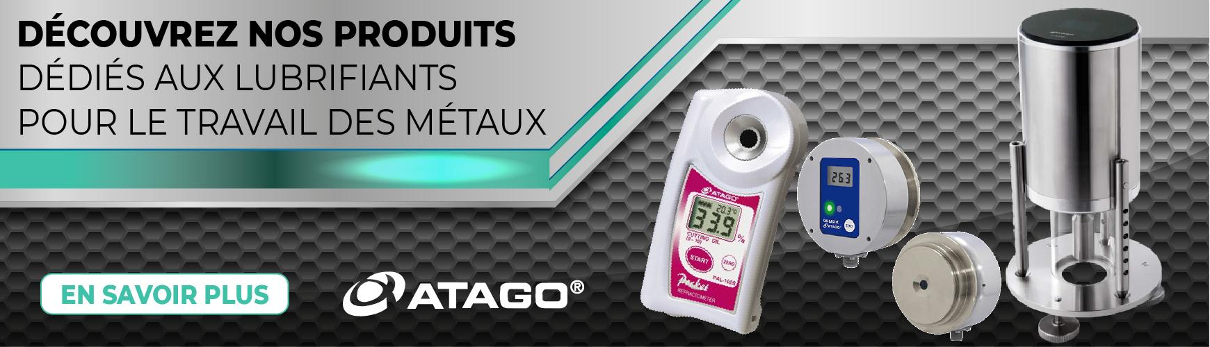Gamme de produits dédiés aux lubrifiants pour le travail des métaux - ATAGO