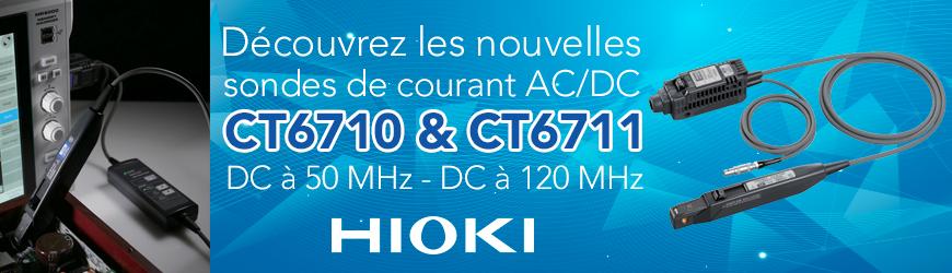 HIOKI Nouvelles sondes de courant AC/DC