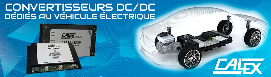 Convertisseurs DC/DC dédiés aux véhicules électriques | CALEX