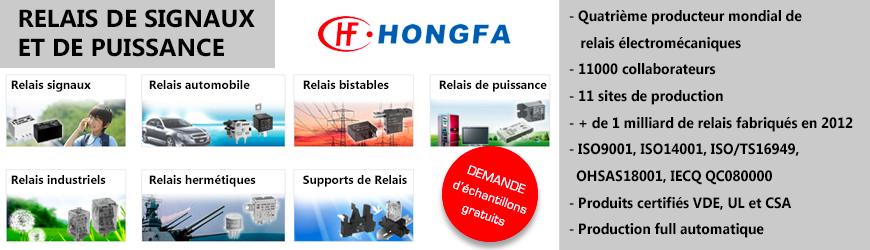 hongfa relais de signaux
