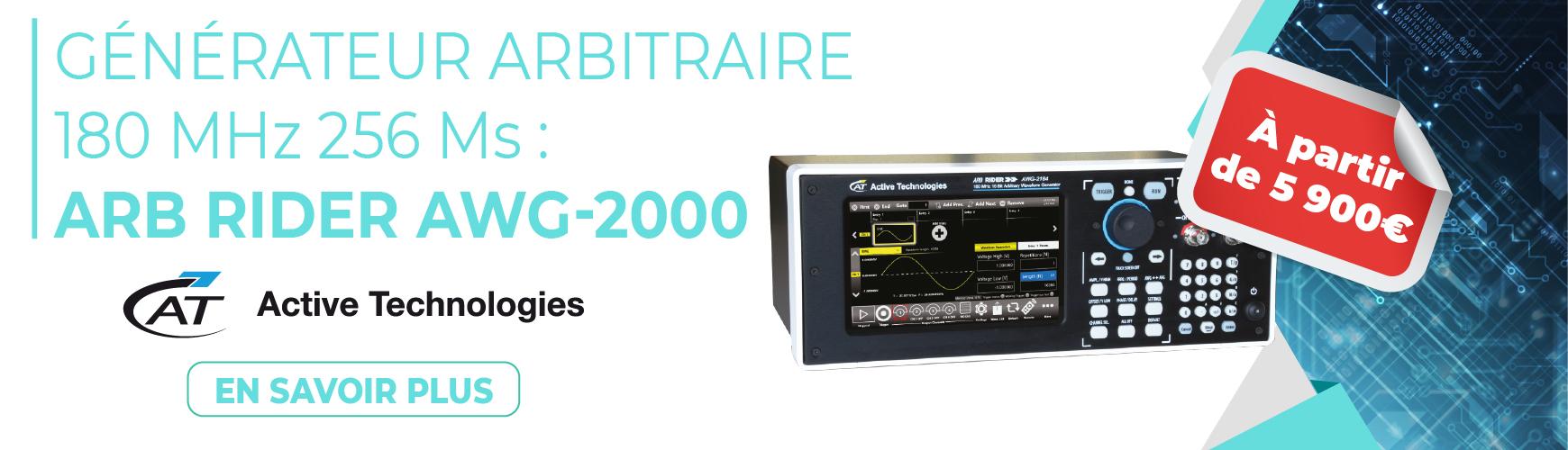Générateur arbitraire 180 MHz AWG-2000 HIOKI