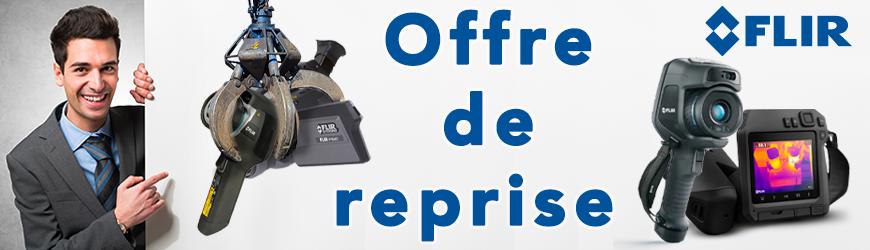 Jusqu'à 5 000 € sur la reprise de votre ancienne caméra thermique | FLIR SYSTEMS