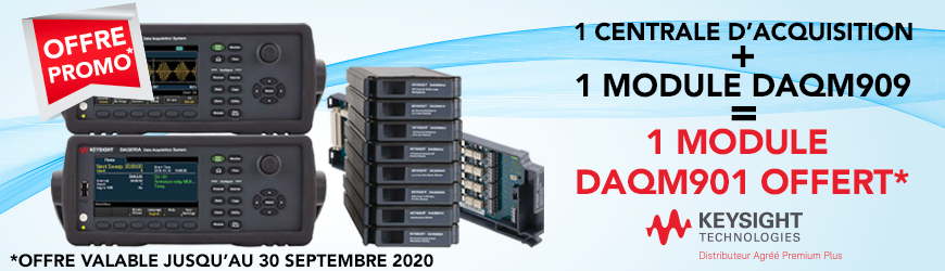 Promotion Keysight : 1 centrale + 1 module acheté : 1 module offert | KEYSIGHT TECHNOLOGIES