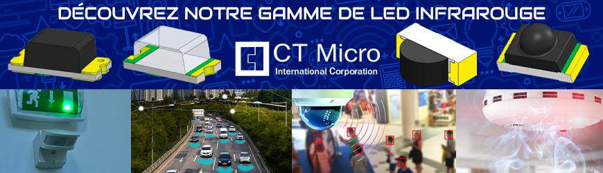Découvrez notre gamme de led infrarouge | CT MICRO
