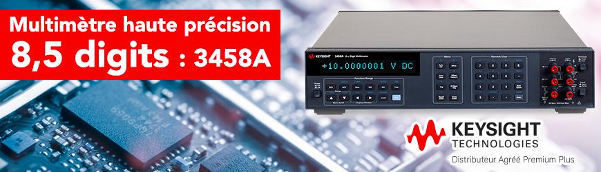 Multimètre haute précision 8,5 digits : 3458A | KEYSIGHT TECHNOLOGIES