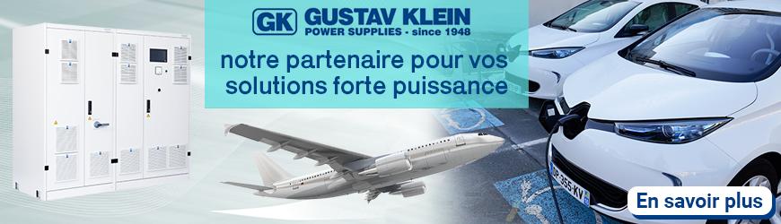 Gustave Klein notre partenaire pour vos solutions forte puissance - Gustave Klein