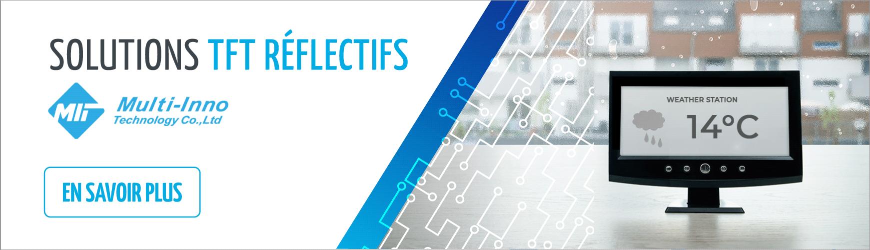 Solution d'écrans TFT réflectifs | Multi-Inno
