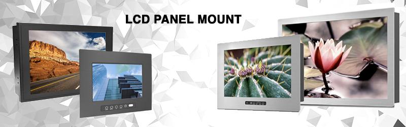 LCD panel mount