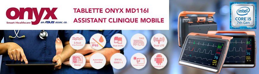 Tablette ONYX Healthcare