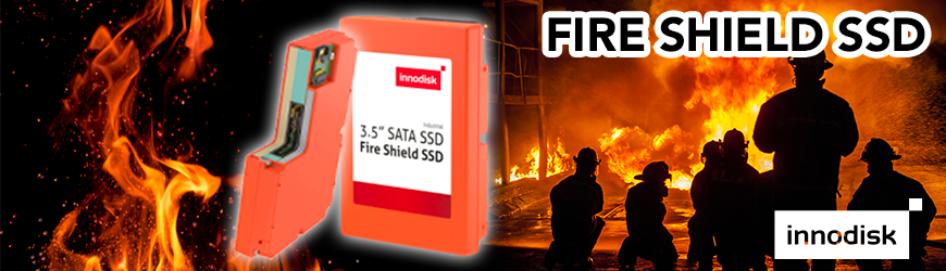 FIRE SHIELD SSD : disque flash résistant au feu - Innodisk | INNODISK